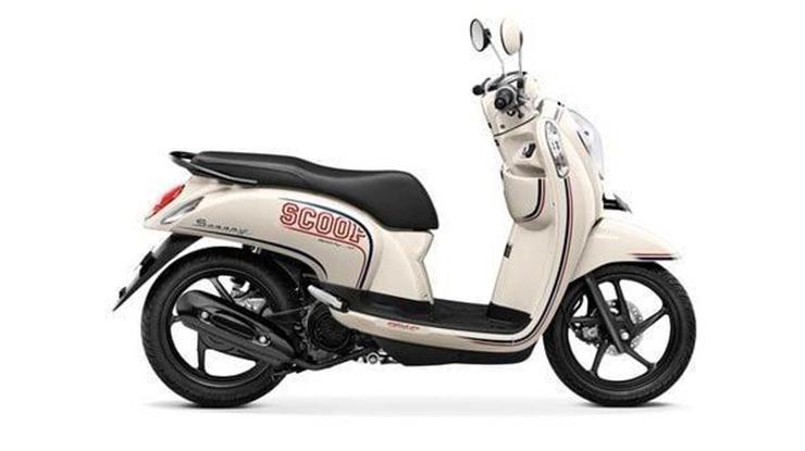 Dimensi Honda Scoopy