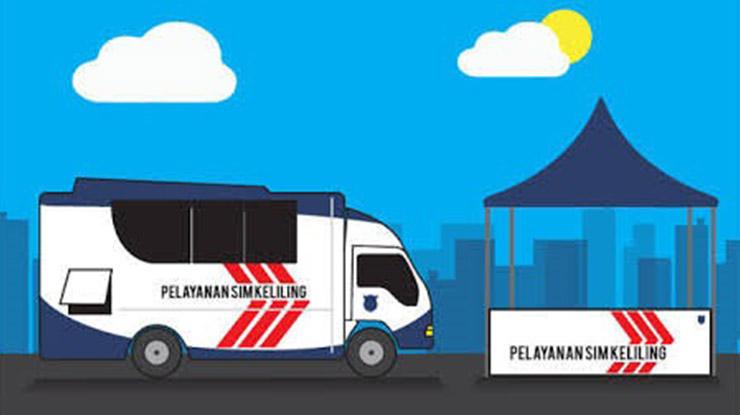 Jadwal SIM Keliling Cirebon Hari Ini