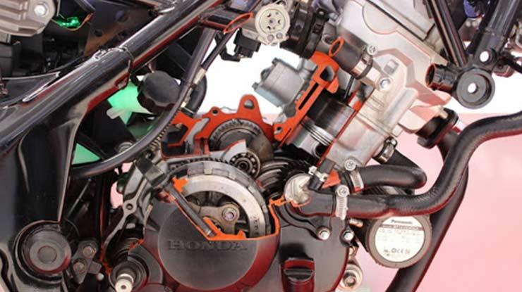 Mesin Motor Honda Sonic