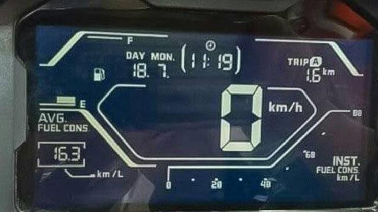 Speedometer ADV CBS dan ABS