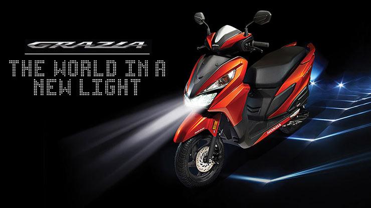 Spesifikasi Honda Grazia 125