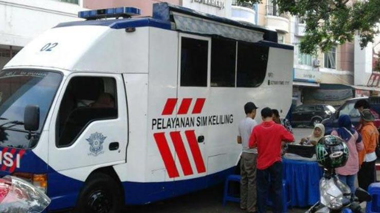 Syarat Perpanjang SIM Keliling Palembang
