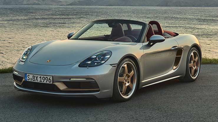 10. Porsche Boxster