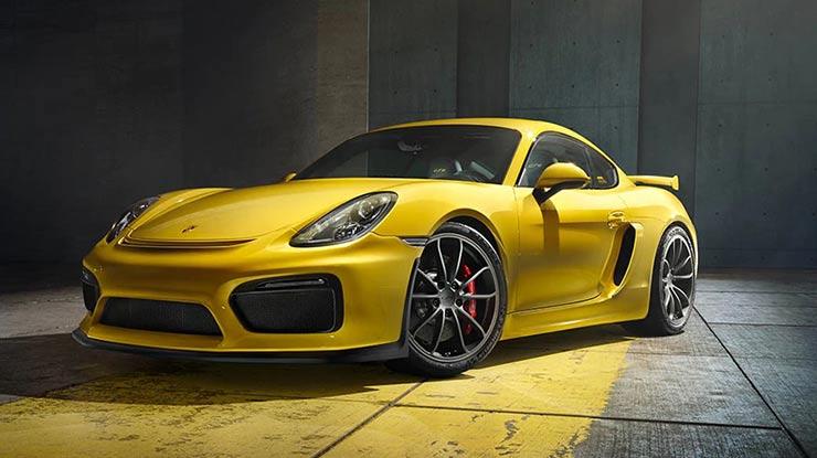 11. Porsche Cayman