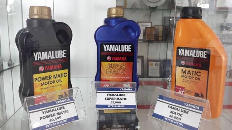 Jenis Oli Untuk Yamaha NMAX