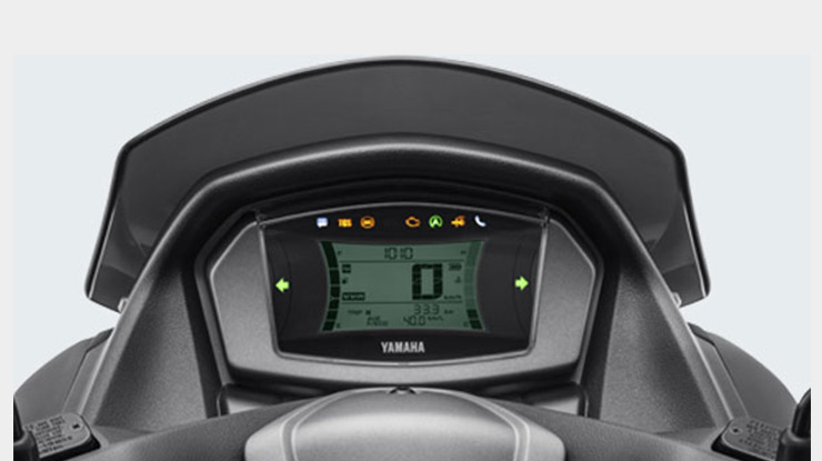 Speedometer Yamaha NMAX ABS dan Non ABS