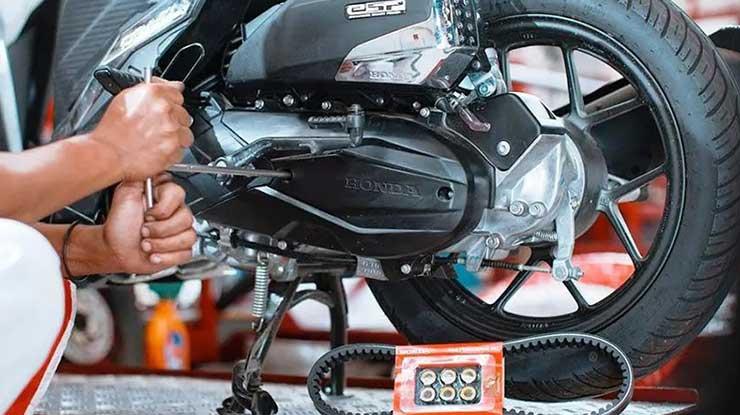 Cara Merawat Mesin Motor Matic