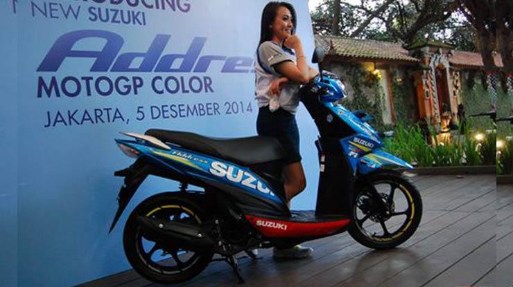Harga Motor Suzuki Matic