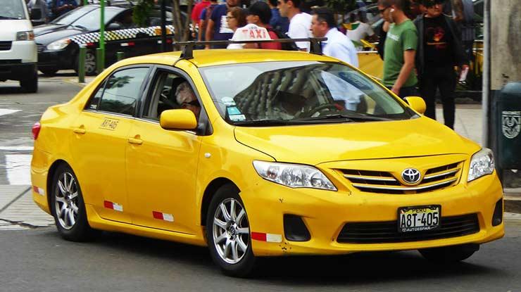 Mobil Toyota Corolla Bekas Taksi