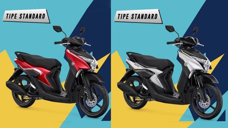 Perbedaan Yamaha Gear 125 Standar dan S