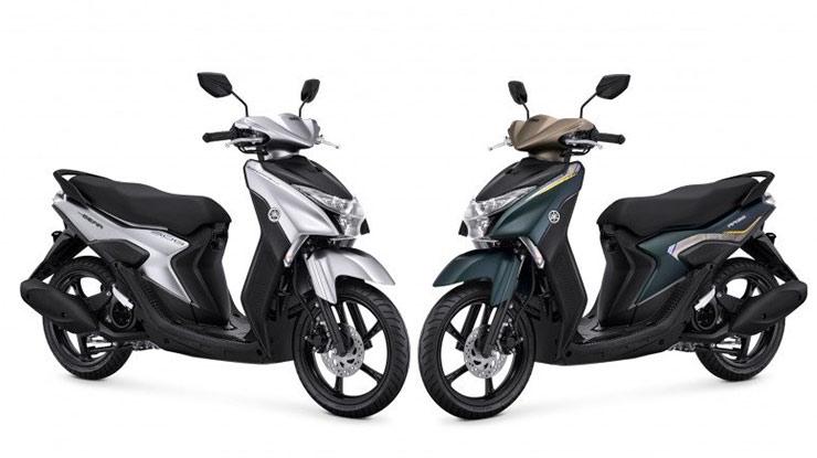 Pilihan Warna Yamaha Gear 125