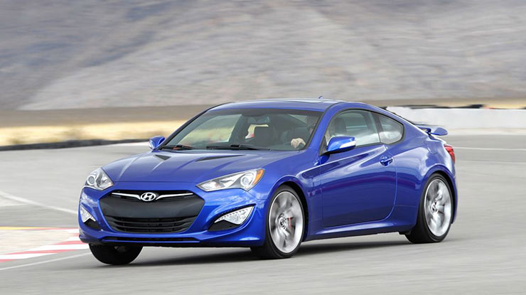 4. Hyundai Genesis Coupe