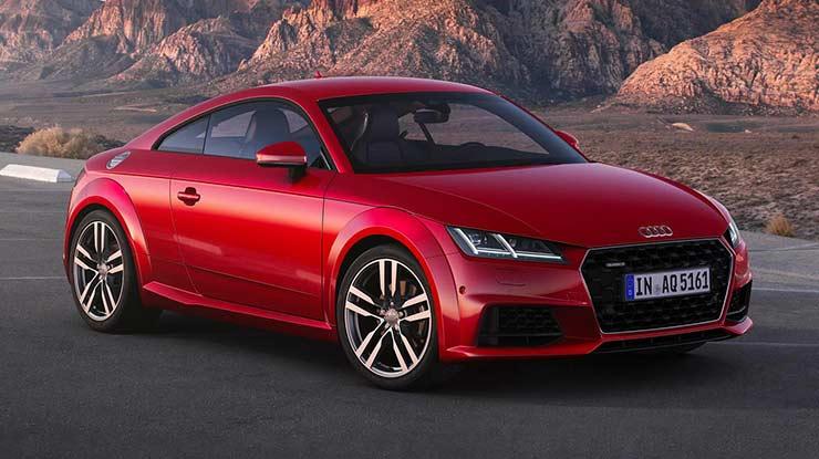6. Audi TT