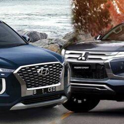Hyundai Palisade vs Mitsubishi Pajero Sport